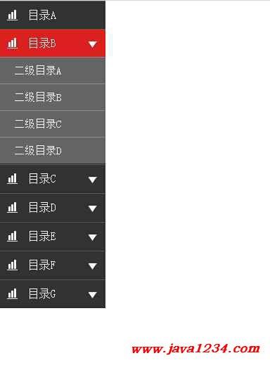 导航菜单静态网页模版 下载 提醒:假如百度云分享链接失效,请联系站长